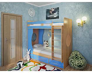 Кровать двухъярусная Милана-1 Бук
