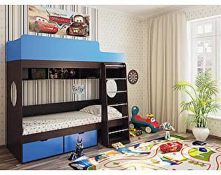 Кровать двухъярусная Милана-2 Венге