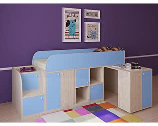 Кровать-чердак РВ Мебель Астра мини