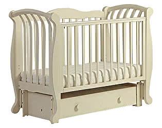 Кроватка для новорожденных Лель БИ 555.3 Магнолия