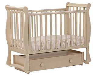 Кроватка для новорожденных Лель АБ 21.4  Лаванда