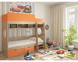 Кровать двухъярусная Милана-2 Сонома
