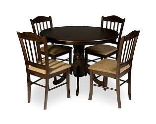 Обеденная группа Mr. Kim стол ES 2191 и 4 стула ES 2004