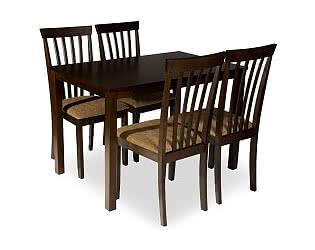 Обеденная группа Mr. Kim стол ES 2 и 4 стула ES 2003