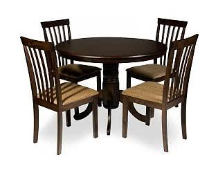 Обеденная группа Mr. Kim стол ES 2191 и 4 стула ES 2003