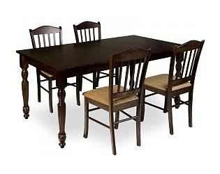 Обеденная группа Mr. Kim стол 5990 и 4 стула ES 2004