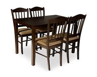 Обеденная группа Mr. Kim стол ES 2 и 4 стула ES 2004