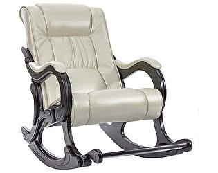 Кресло-качалка Мебель Импэкс Лидер модель 77 экокожа с подножкой (013.0077)