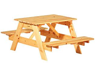 Купить  комплект садовой мебели Timberica Пикник детский