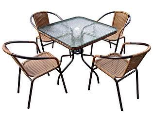 Комплект плетеной мебели Афина-мебель TLH-037A/073A-80