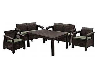 Комплект плетеной мебели Keter CORFU FIESTA 17198008