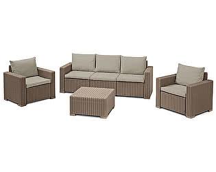 Купить  комплект садовой мебели Keter CALIFORNIA 3 SEATER SET 17198931