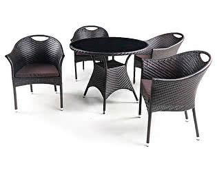 Комплект плетеной мебели Афина-мебель T190B-1/Y-197B