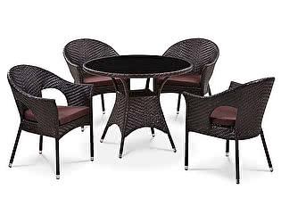 Комплект плетеной мебели Афина-мебель T190B-1/ Y-97B