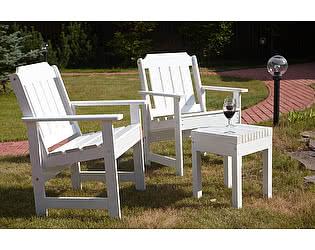 Комплект садовой мебели Timberica 2 Кресла Ярви + табурет Лахти