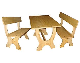 Купить  комплект садовой мебели Добрый мастер Ом-лс +  Ом