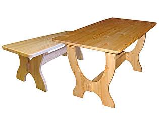 Купить  комплект садовой мебели Добрый мастер Ом л + Ом