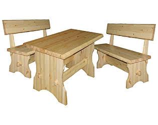 Купить  комплект садовой мебели Добрый мастер Cт s+ Ск ss
