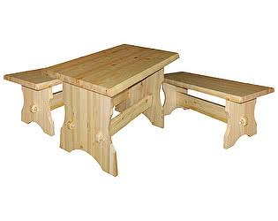 Купить  комплект садовой мебели Добрый мастер Cт s+ Ск s