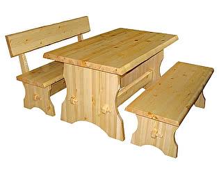 Купить  комплект садовой мебели Добрый мастер Cт s + Ск s + Ск ss