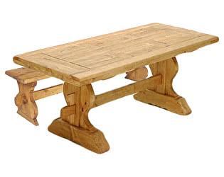 Купить  комплект садовой мебели Волшебная сосна Table Monastere 220 + Bancmona