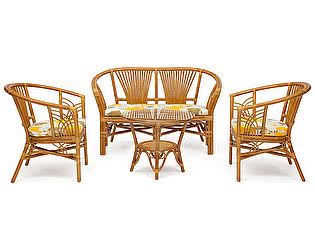 Комплект плетеной мебели Tetchair ATLANTA