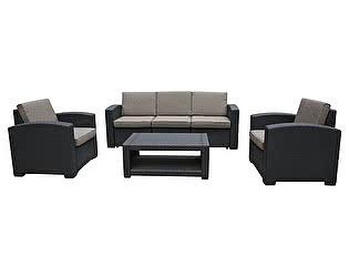 Комплект плетеной мебели Афина-мебель AFM-3017B