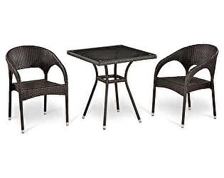Комплект плетеной мебели Афина-мебель Т282BNT/Y90С-W51