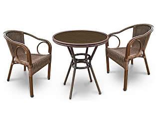 Комплект плетеной мебели Афина-мебель А1007-А2010