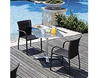Комплект плетеной мебели Афина-мебель LFT-3125A/Y282А-W52-2PCS