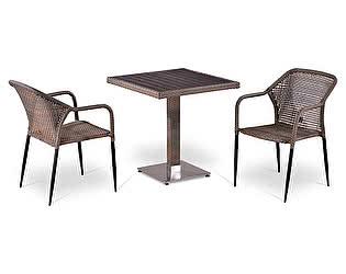 Комплект плетеной мебели Афина-мебель Т502DG/Y35G-W1289