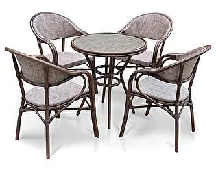 Комплект садовой мебели Афина-мебель A1007-D2003-4PCS