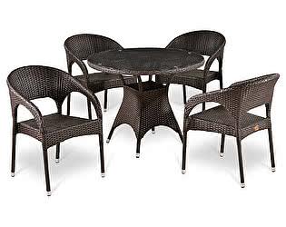 Комплект плетеной мебели Афина-мебель Т220CT/Y90С-W51
