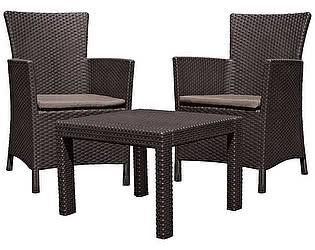 Купить  комплект садовой мебели Keter Rosario balcony set 17200030