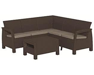 Купить  комплект садовой мебели Keter Corfu Relax set 17202123