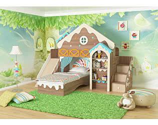 Комплект детской мебели Мебельсон Пряничный домик К1