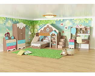 Комплект детской мебели Мебельсон Пряничный домик К3