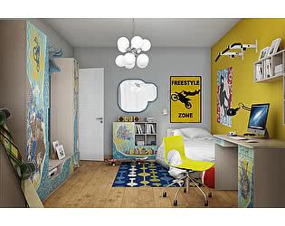 Комплект детской мебели ВасКо Юна М К1