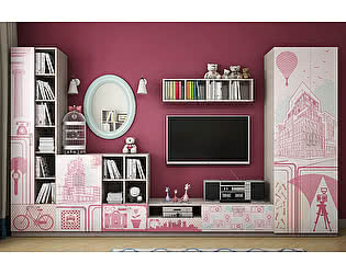 Комплект детской мебели ВасКо Юна Д К1