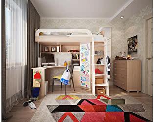 Комплект детской мебели Мебельсон Мультиплекс фасад маркерный