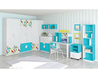 Комплект детской мебели Мирлачев Кристи Бирюза