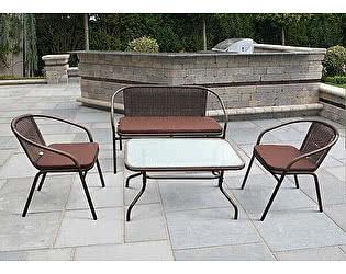 Комплект плетеной мебели Афина-мебель TLH-037/037D/40S