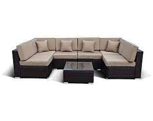 Комплект плетеной мебели Афина-мебель YR822