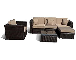 Комплект плетеной мебели Афина-мебель YR821/YR921