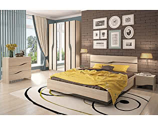 Спальный гарнитур СтолЛайн Кензо К1