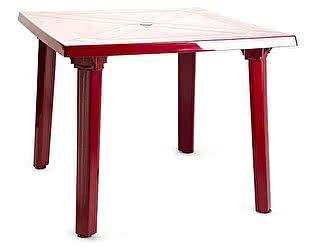 Пластиковый стол ЛетоЛюкс квадрат 900х900х710 АГР