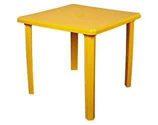 Пластиковый стол ЛетоЛюкс квадратный  80х80