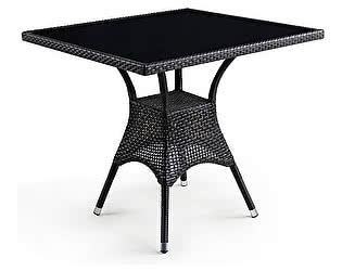 Плетеный стол Афина-мебель T197ВNS-W51