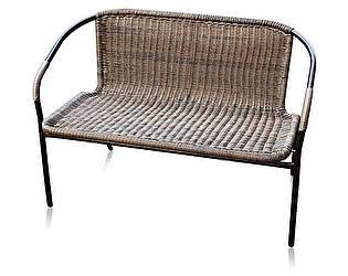 Плетеный диван Афина-мебель TLH-037DA / TLH-037DB