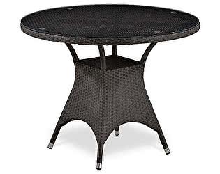 Плетеный стол Афина-мебель T220СBТ-W52 / T220СG-W1289